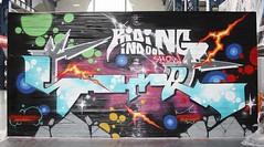 Graff: Riding Indoor Show Brest 2017 (EricFromPlab) Tags: bretagne finistère brest capucins breizh brittany graff graffiti tag tags street art urban wall streetart