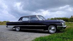 Ford Galaxie 1961 (claude 22) Tags: tourdebretagne abva 2017 rallye old vintage classic vehicule cars voitures automobiles collection brittany finistère france vehicles scenic paysage landscape ford galaxie 1961 tourdebretagneabva american tourdebretagne2017 claude22 claudelacourarie