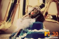 BNTM: Fierce Awakening - Chastidy Nicols - Madonna (SUPAHFATTYLUSIOUS) Tags: bratz nextop next top model fierce awakening chastidy nicols talking movie yasmin mtv madonna 1984 like a virgin white lace wedding fashion beauty cake blue gold balloons glitter tulle skirt bustier diy doll dolls vh1 classic performance vintage