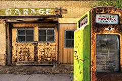 Old Garage (GR Smith) Tags: vintage building gasstation garage