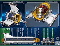 Queen Aurora 28 12003 (messerneogeo) Tags: messerneogeo robot mech mecha queen aurora ninja ganzo spaceship battleship lego