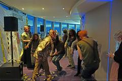 The Establishing Shot: FEAR THE WALKING DEAD LAUNCH –  ZOMBIE WALKERS DO THE MONSTER MASH @ TOP OF BT TOWER - LONDON [Sony NEX-7] (Craig Grobler) Tags: ckc1ne craiggrobler craigcalder london film tv uk theestablishingshot wwwtheestablishingshotcom theestshot attheestshot fearthewalkingdead thewalkingdead zombies fearthewalkingdeadpremiere bttower launch party dj views ftwd herontower tower42 thegherkin 30stmaryaxe 122leadenhallstreet cheesegratertower leadenhallbuilding cheesegrater onecanadasquare 25canadasquare citigrouptower 20fenchurchstreet thewalkietalkie walkietalkie stpaulscathedral uclcruciformbuilding universitycollegelondon hydepark regentspark bluehour stmaryleboneparishchurch parkviewresidence hdr allsoulslanghamplace thelangham palaceofwestminster housesofparliment clocktower bigben victoriatower portcullishouse foreigncommonwealthoffice fco millenniumeye seacontainershouse oxotower theshard oneblackfriars southbanktower harrods sony sonynex5 nex5