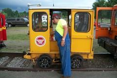 100_3297 (primemover88) Tags: speeder railcar excursion narcoa elkins wv west virginia durbin greenbrier valley railroad