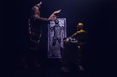 Atrapado en carbonita (Oscar EM) Tags: hansolo solo chewbacca rdd2 c3po jabba hutt jedi starwars carbonita carbonite helios helios44m nikon d800 nikond800 nikonfx toyphotography hasbro hasbrostarwars