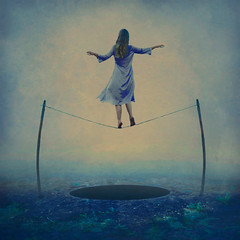 for fear of falling (brookeshaden) Tags: