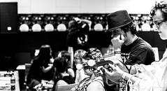 Gamers. (Alex-de-Haas) Tags: weareattitude 70200mm atak attitudeholland attitudefest dutch enschede holland nederland nikond5 thenetherlands alternatief alternative attitude clothing community evenement event expressie expression fashion fest festival game gameroom gamers goth gothic grunge guys jongens kleding lifestyle look mode party punk rock rockabilly style underground vintage