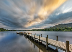 Monk Pier, Coniston, Lake District (MelvinNicholsonPhotography) Tags: monkpier coniston lakedistrict lakes cumbria pier jetty sunset longexposure canon5dmk4 canonuk gitzo manfrotto nisifilters melvinnicholsonphotography