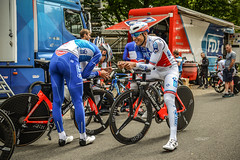Tour deTour de France 2017 #Behind the Scene France 2017 (equipecyclistefdj) Tags: aerostorm lapierre chrono clm