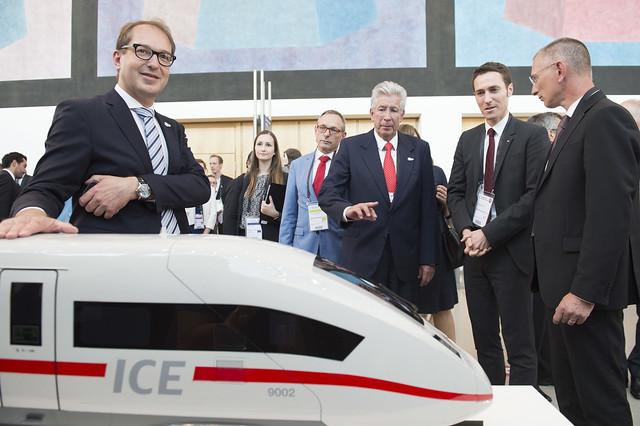 Deutsche Bahn's ICE train