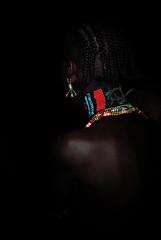 Hamar Beads (Rod Waddington) Tags: africa african afrique afrika äthiopien ethiopia ethiopian ethnic etiopia ethnicity ethiopie etiopian omo omovalley outdoor hamar hamer traditional tribe tribal beads girl culture cultural people earing nightphotography