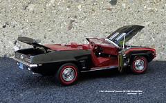 1969 Chevrolet Camaro SS 350 Convertible (JCarnutz) Tags: 124scale diecast danburymint 1969 chevrolet camaross