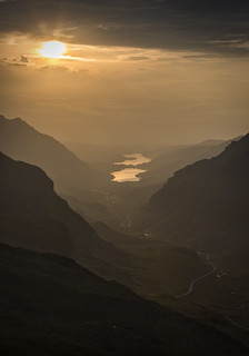 Llanberis Pass Sunset