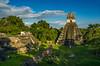 magical Tikal (traumlichtfabrik) Tags: guatemala tikal maya scene colorful backpacking reise reisen travel urlaub petén gt centralamerica history journey 2016 afternoon pentax k5 sigma1770 sigma hdr horizontal serene outdoor nature traveltourism colorimage tranquilscene tranquil ruins tower