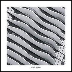 Undulation... (Ring of Fire Hot Sauce 1) Tags: chicago architecture aquatower monochrome blackwhite