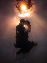 Silhou-wet of Love (wesome) Tags: adamattoun underwaterphotography underwaterportrait ikelite