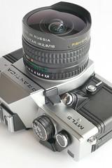 Praktica MTL5 / Zenitar M2,8 / 16 (rainer.marx) Tags: praktica mtl5 m42 analog film zenitar fisheye ddr gdr russia kleinbild panasonic f1000 dmc leica pentacon