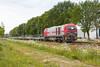 IRP 2101 + lege BLG autotrein - Harselaar Oost - 20170516 (Cees_1251) Tags: 2101 amfbh autotrein blg harselaaroost independentrailpartner irp pon g2000bb onbeladen 928012731057drhc vossloh