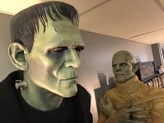 Universal Monster Frankenstein and Mummy Life Size Replica Prop (garystrange) Tags: frankenstein prop life size replica 11 halloween boris karloff mummy imhotep