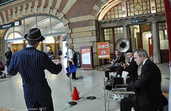 Transport Heritage Expo 2017 - -18 (john cowper) Tags: transportheritagensw centralrailwaystation transportheritageexpo heritagediesels nswrailmuseum 3642 3041 4001 mortuarystation entertainment queensbirthdayweekend sydney newsouthwales