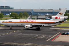 DAS Air Cargo   McDonnell Douglas DC-10-30CF   5X-JOE   Amsterdam Schiphol (Dennis HKG) Tags: dasaircargo dsr wd dc10 cargo freighter mcdonnelldouglas aircraft airplane airport plane planespotting amsterdam schiphol eham ams 5xjoe canon 30d 70200