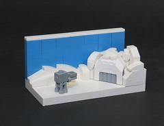 Enemy at the Gate (Grantmasters) Tags: atat lego hoth nano micro star wars