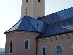St Mirko's church, Šestine, roof