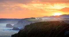 Beautiful coast of Spain (colinb4) Tags: asturias coast sunrise dawn espana spain