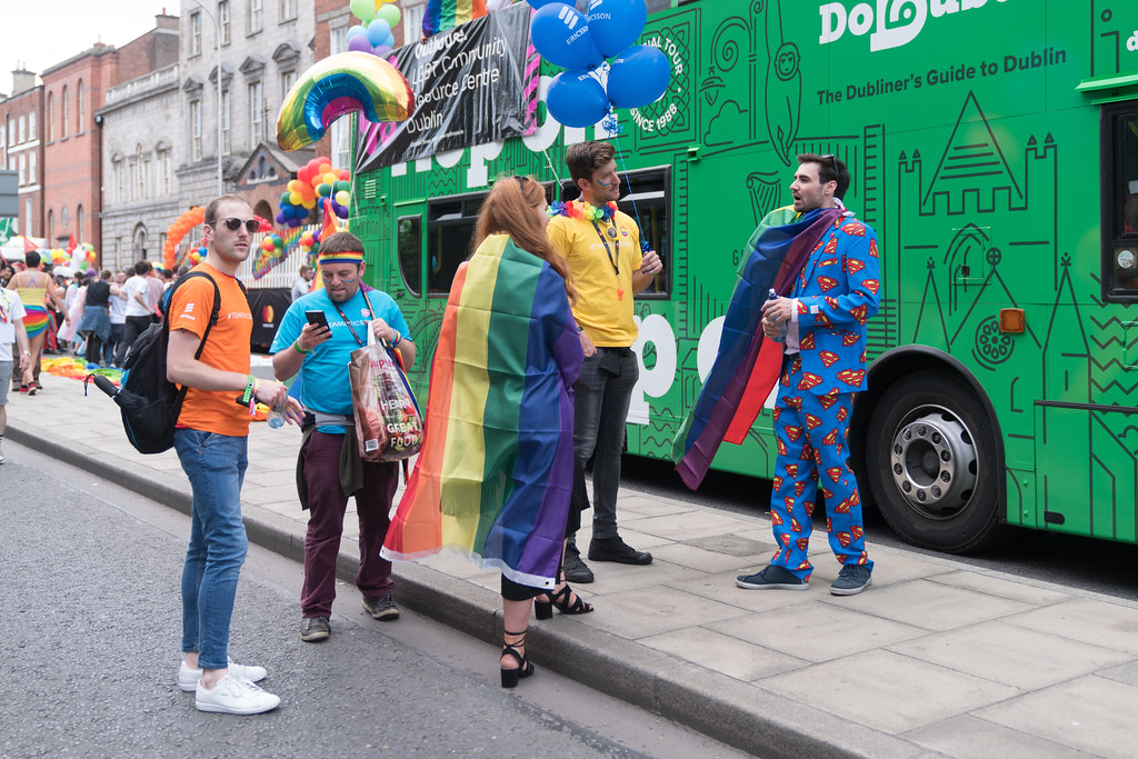 LGBTQ+ PRIDE PARADE 2017 [STEPHENS GREEN BEFORE THE ACTUAL PARADE]-129768