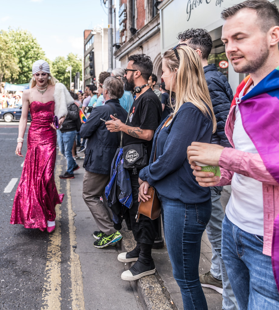 LGBTQ+ PRIDE PARADE 2017 [ON THE WAY FROM STEPHENS GREEN TO SMITHFIELD]-130064