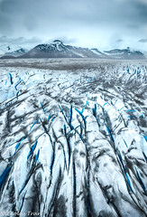 Ice Cold Veins (Nicholastran213) Tags: alaska glacier snow ice taku takuglacier helicopter aerial blue white icecold cloud landscape nature freeze freezing chill cool