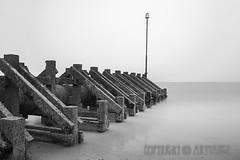 Hornsea Groyne (ArtyAnge) Tags: hornsea hull artyangephotography eastridingofyorkshire groyne landscape misty mistywater sandandsea sea seascape soggybeachday weather