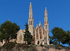 St. Mary Magdalene (Andy WXx2009) Tags: landscape skyline church novelda cathedral religion architecture history culture landmark gaudi tower alicante trees building beauty artistic costablanca espana europe sunlight stmarymagdalene structure streetphotography colours spain art