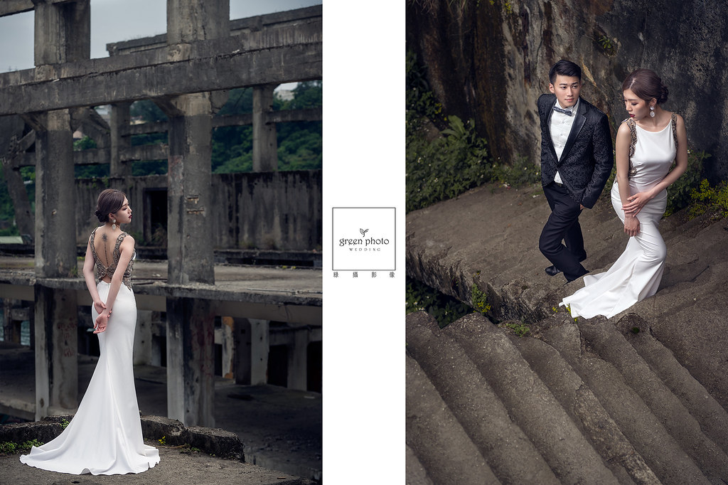 [自主婚紗] 阿中&苔螢 婚紗照