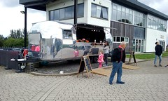 Airstream Cafe. (Paris-Roubaix) Tags: airstream caravan cafe falkirk wheel forth clyde canal stirlingshire