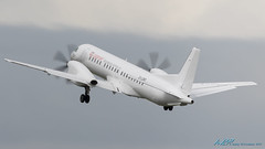 G-LGNO Saab 2000 Loganair (kw2p) Tags: airport aviation egpf glgno saab saab2000 loganair airline aircraft aeroplane airplane kw2p gaaec glasgowairport egpfgla scotland