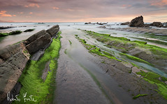 sunrise in barrika (rob.Forte) Tags: seascape sunrise barrika ocean seaside landscape leefilters tokina1116 nikon rockwave