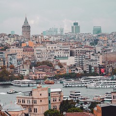 Galata Tower (alicelik6) Tags: photography bosphorus galatakulesi galatatower goldenhorn galata turkiye turkey istanbul