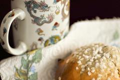 paris bun (167/365) (werewegian) Tags: werewegian paris bun cake sugar currant dough jun17 dragon cup 365the2017edition 3652017 day167 16jun17