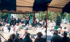 SF - Gazebo Crowd 4 (rumimume) Tags: rumimume 90s owensound ontario canada kelsobeach photo music festival summerfolk performer outdoors people folk fun summer august weekend