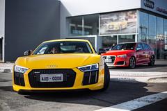 Audi R8 V10 Plus & Audi RS3 Sportback (Natty France) Tags: audi r8 v10 plus r8v10plus r8v10 rs3 rs3sportback sportback canon canon6d 6d 50mm
