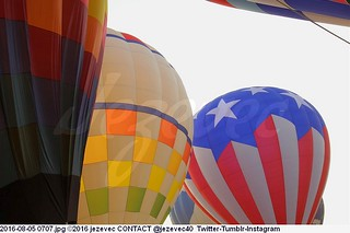 2016-08-05 0707 2016 Indiana State Fair Hot Air Balloons