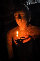Secret Buddha [Explored 17/06/2017] (Valdy71) Tags: srilanka buddhism buddha buddismo statua valdy nikon polonnaruwa