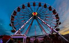Foire à Namur(BE) 2 (YᗩSᗰIᘉᗴ HᗴᘉS +6 500 000 thx❀) Tags: namur night fête fest foire belgium belgique nuit roue granderoue sky