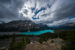 10mm View of Peyto Lake (www.mikereidphotography.com) Tags: banff peyto canada landscape lake lakelouise