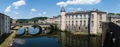 Pont de Brassac (Marc ALMECIJA) Tags: brassac tarn pont bridge bleu blue pano panoramique water eau rivière river sony rx100 castel