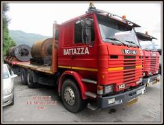 Scania 143E400 (DaveFuma) Tags: scania 143 autocarro camion trasporto eccezionale coils truck lorry wide load schwertransporte lkw