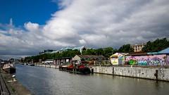 Cloudy (3203) (YᗩSᗰIᘉᗴ HᗴᘉS +6 500 000 thx❀) Tags: clouds bruxelles brussels belgium belgique sky hensyasmine landscape water waterscape