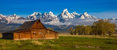 Incoming Storm - Home on the Range (dezzouk) Tags: mormonrow grandteton nationalpark sunrise wyoming