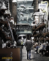 TRENDY BARS... (BABAYAGA321) Tags: belfast victoriasquare streetphotography graffiti streetart clocktower murals dirtyonion guinness salvadoredali johnpeel stenaline langanriver ferry stannescathedral spireofhope
