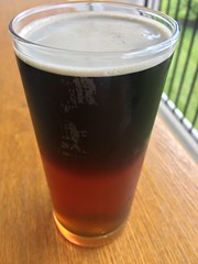 A #perfect Black & Tan #beer - v (SouthernBreeze) Tags: alfresco beverage tan black usa iphoneography friends lunch fun family trip travel light sooc 2017 i6 blacktan bt drink beer
